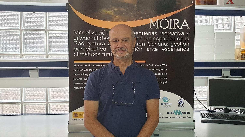 José Juan Castro Hernández, responsable del Proyecto Moira