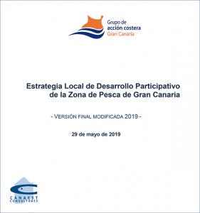 Portada de la EDLP de la zona de pesca de Gran Canaria, versión de 2019
